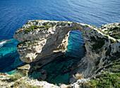 Tripitos Arch, West Coast, Paxos, Greece