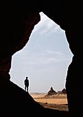 Eroded Rockscape, Tadrart-Acacus, Near Ghat, Libya