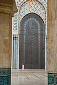 Hassan II Mosque with prayer hall, Casablanca, Morocco