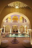Anayela Riad with swimming pool, Marrakech, Morocco.