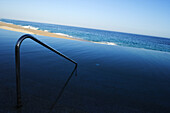 Railing by swimming pool, Los Cabos, Mexico
