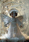 Angel, Arrangement, Christmas, Christmassy, Decorated, Decoration, Festive, Icy, Life, Still