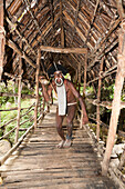 Dani Warrior, Baliem Valley, West Papua, Indonesia