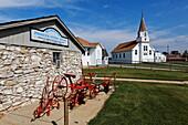 Open air heritage center, Dickinson, Stark County, North Dakota, USA