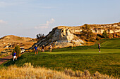 The Bully Pulpit Golfkurs, Medora, North Dakota, USA