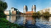 Spree, German Home Office, Berlin Moabit, Berlin center, Berlin, Germany, Europe
