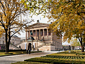 Old National Gallery, Alte Nationalgalerie, Museum Island, Berlin center, Berlin, Germany, Europe