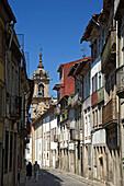 Street scene in Braga, Braga, Douro Valley, Portugal