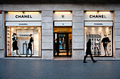 Chanel store, Eixample, Barcelona, Spain
