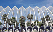 L'Ubracle gardens, City of Arts and Sciences, Valencia, Spain
