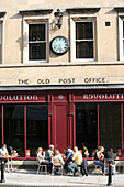 Bar in Old Post Office Building, Bath, Somerset, England