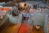 Excavation at Bliesbruck-Reinheim European Culture Park, Bliesgau, Saarland, Germany, Europe