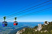 Kampenwand cable car, Chiemgau, Upper Bavaria, Germany