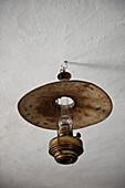 Old oil lamp, Poysdorf, Wine region, Lower Austria, Austria