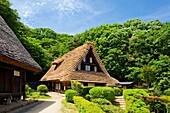 Kawasaki City-Minka-en Park-Japan Open-air Folk House Museum.