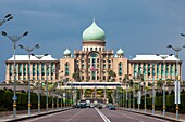 Malaysia Nov  2010, Near Kuala Lumpur City, Putrajaya City, rime Minister´s Office Bldg
