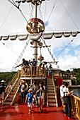 Hakone Sightseeing Cruise, Lake Ashi, Hakone, Kanagawa, Japan