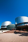 Palais des Droits de l´Homme, European Court for Human Rights, Strasbourg, Alsace, France