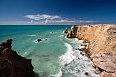 Puerto Rico, West Coast, Cabo Rojo, coastline seascape.