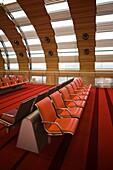 France, Paris, Aeroport Charles De Gaulle airport, Aerogare 2-Terminal E, international departure area