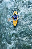 Canoeing on the Ason and Gandara rivers, Cantabria, Spain