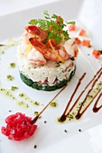 Crab, Crabs, cuisine, dish, food, healthy, meal, plate, restaurant, seafood, shrimp, starter, F57-1251783, AGEFOTOSTOCK