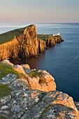 Neist Point and lighthouse, Isle of Skye, Scotland, UK, June 2007