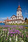 Information centre historic building, Fenton Street, Rotorua.