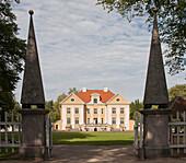 Exterior of Palmse Manor, Estonia