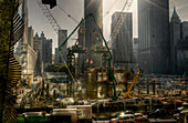Rebuilding From Ground Zero in New York City, New York, NY, USA