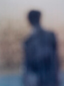 Abstract Man, Rear View Portrait