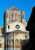 Colegiata de Santa Maria La Mayor  Toro XII Century Zamora  Spain  One of the most characteristical examples of transitional Romanesque architecture in Spain, the church of Santa María la Mayor is inspired to the Cathedral of Zamora, in turn inspired to t