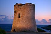 Torre de Cala Pi XVI-XVII century Llucmajor Mallorca, Balearic Islands, Spain