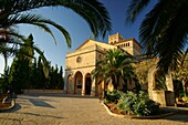 Parish Church of Our Lady of Atocha XVI century Ariany Mallorca Illes Balears Es Pla Spain