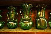 Handmade glass manufacturing Guardiola, Algaida Es Pla Mallorca Illes Balears Spain