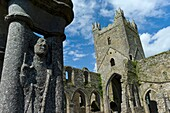 Jerpoint Abbey is a Cistercian abbey, founded in the second half of the 12th century, near Thomastown  County Kilkenny  Ireland