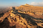 Israel  Negev Desert  The western rim of the Maktesh Gadol Big Crater