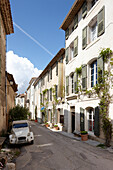 Exterior view and Saignon village street, B  and B Chambre Avec Vue, Luberon, France