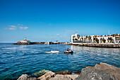 View of the seaport Puerto de Mogan, Gran Canaria, Canary Islands, Spain, Europe