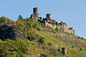 Thurant castle on a hill, Alken, Rhineland-Palatinate, Germany, Europe
