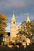 romanic abbey church St. Cyriakus, Gernrode, Harz, Saxony-Anhalt, Germany