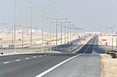 Street to Ras Laffan Industrial City, Qatar