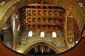 View of the northern transept, the Cathedral of Monreale, Monreale, near  Palermo, Sicily, Italy