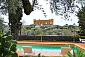 Temple of Concordia in the valley of temples, Agrigento, province Agrigent, South Coast, Sicily, Italy