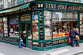 Facade of a delikatessen in Rue du Faubourg Montmartre, Paris, France, Europe