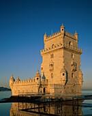 Belem, fortress, gothic, Lisbon, manueline, medieva. Belem, Fortress, Gothic, Holiday, Landmark, Lisbon, Manueline, Medieval, Portugal, Europe, River, Tagus, Tourism, Tower, Travel
