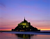 castle, Europe, France, Michel, mont, Mont St. Mich. Castle, France, Europe, Holiday, Landmark, Michel, Mont, Normandy, Sunset, Tourism, Travel, Vacation