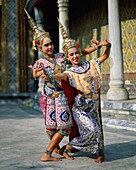 Asia, Asian, costume, dance, dancers, ethnic, outdo. Asia, Asian, Costume, Dance, Dancers, Ethnic, Holiday, Landmark, Outdoors, People, Thai, Thailand, Tourism, Traditional, Travel