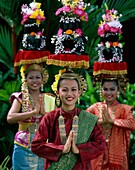 Asia, Asian, costumes, headdress, Malaysia, Asia, o. Asia, Asian, Costumes, Headdress, Holiday, Landmark, Malaysia, Outdoors, People, Smile, Smiling, Tourism, Travel, Vacation, Wome