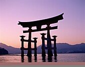 architecture, Grand Gate, Itsukushima, Itsukushima. Architecture, Asia, Gate, Grand, Holiday, Itsukushima, Japan, Lake, Landmark, Miyajima, Shrine, Structure, Sunset, Tourism, Trav